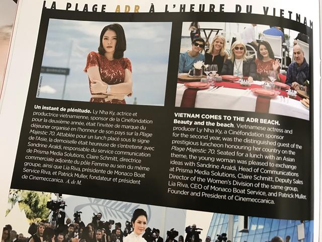 Lý Nhã Kỳ lại xuất hiện trên tạp chí Gala, Pháp