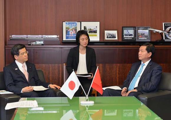 Nhật Bản đã thể hiện mong muốn hợp tác với Việt Nam trong lĩnh vực thoát nước và xử lý nước thải