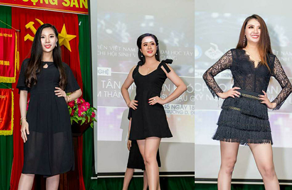Top model Thảo My, Người đẹp Mai Hải Nhi và Người đẹp Phan Tuyền đọ dáng trên sàn diễn thời trang