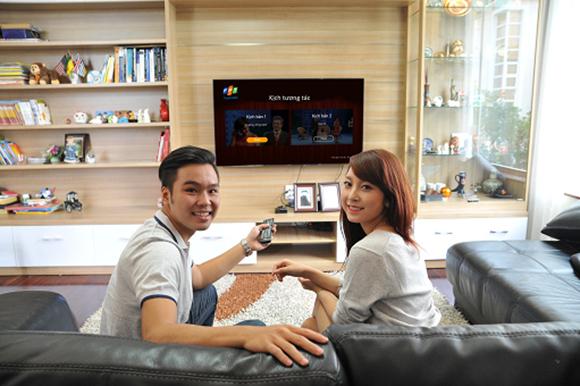 Cùng nhau bật tivi và luôn dõi theo các vở diễn Kịch tương tác trên kênh truyền hình FPT