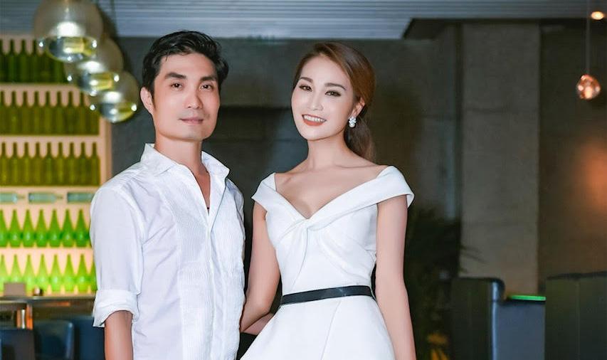 Diễn viên Xuân Nguyễn, diện đầm xếp tầng cực chất dự sinh nhật NTK Văn Thành Công