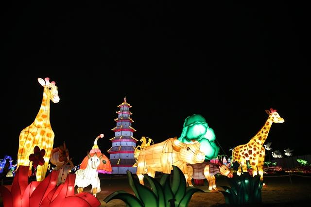 Lễ hội đèn lồng khổng lồ lần đầu tiên tại TP.HCM