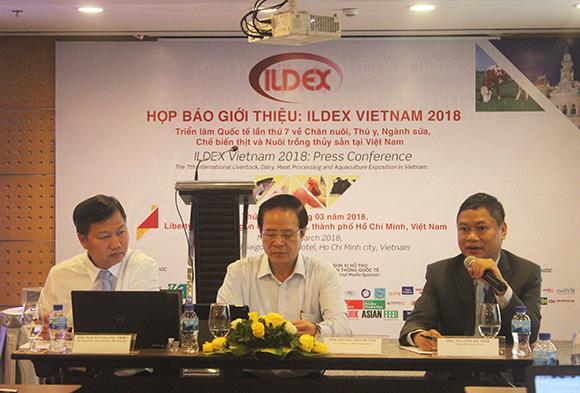 Gần 250 doanh nghiệp tham gia ILDEX Vietnam 2018 - Triển lãm Quốc tế lần thứ 7 về Chăn nuôi, Thú y, Ngành sữa, Chế biến thịt và Nuôi trồng thủy sản