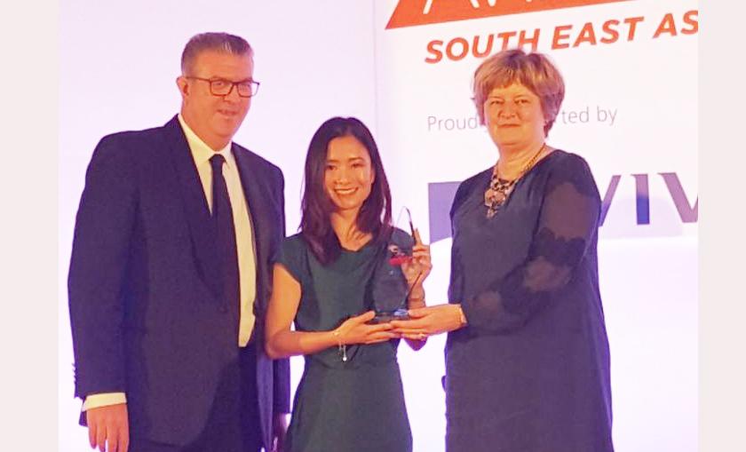 """CBRE Việt Nam vinh dự khi có 'Lãnh Đạo Nữ' được vinh danh tại giải thưởng """"Phụ nữ lãnh đạo trong tương lai"""" khu vực Đông Nam Á"""