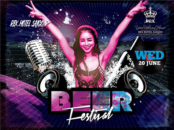 BEER FESTIVAL – Thỏa sức uống bia, bùng cháy cùng âm nhạc tại Rooftop Garden Bar!