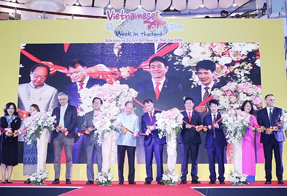 Tuần hàng và du lịch Việt Nam tại Thái Lan 2018 – Cầu nối cho doanh nghiệp Việt tham gia mạng lưới phân phối Thái Lan