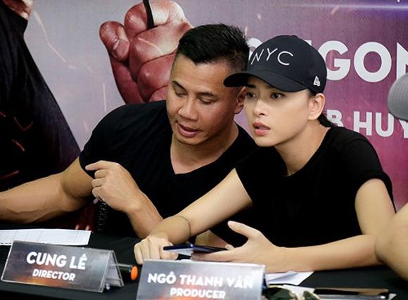 Ngô Thanh Vân hợp tác võ sĩ Cung Lê làm phim