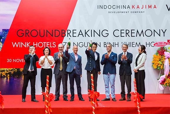 Chuỗi khách sạn Wínk chính thức khởi công xây dựng