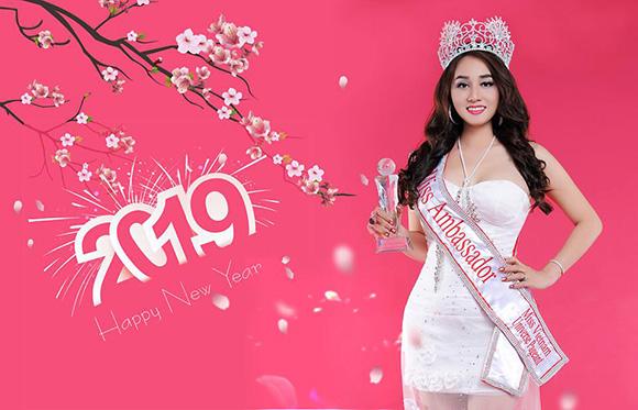 Hoa hậu Nhã Linh và hành trình thiền nguyện sau đêm đăng quang.