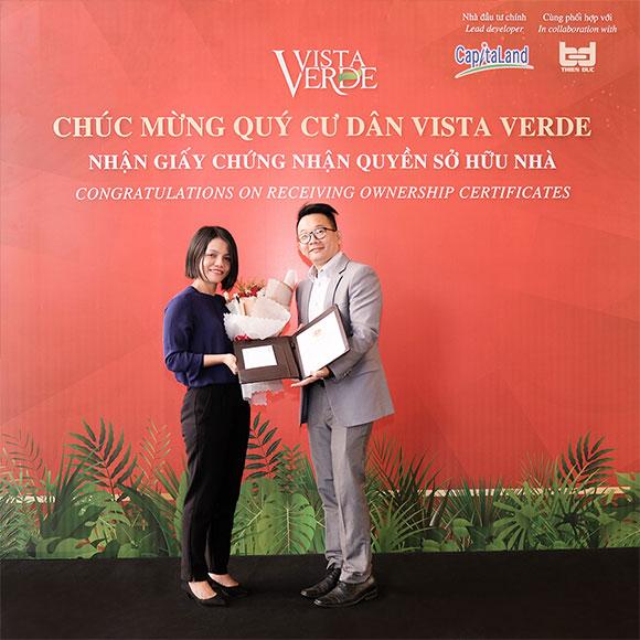 Vista Verde – Dự án căn hộ cao cấp của Capitaland Việt Nam đã được cấp sổ hồng