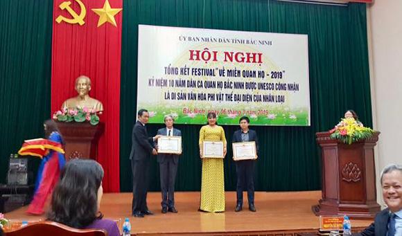 CEO Hồ Thanh Hương được Ủy ban nhân dân tỉnh Bắc Ninh vinh danh