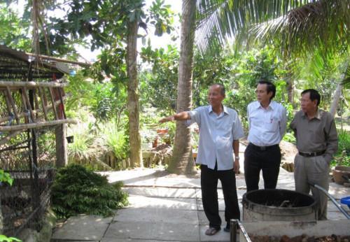 Vui cảnh đồng quê với nguyên Phó Thủ tướng Trương Vĩnh Trọng
