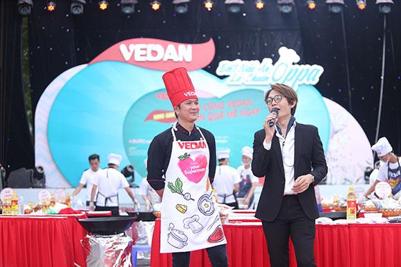 """Vedan tổ chức sự kiện ẩm thực """"Biết nấu ăn là chuẩn oppa"""""""