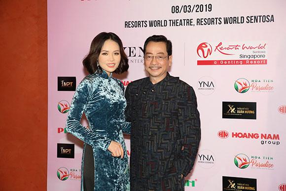 Doanh nhân Sarah Tú đọ dáng cùng dàn sao Việt tại Đêm hội chân dài lần thứ 12
