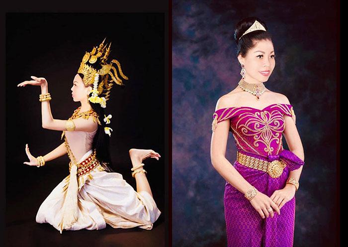 Sức hấp dẫn trong trang phục truyền thống phụ nữ châu Á, Nguyễn Thùy Trang khoe vóc dáng cực chuẩn