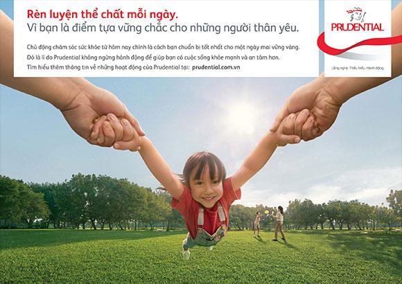 Ra mắt chiến dịch thương hiệu mới, Prudential tiếp tục khẳng định mục tiêu giúp khách hàng phát triển trong mọi hành trình cuộc sống
