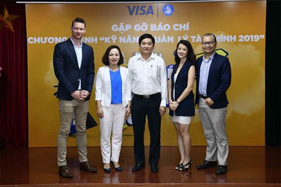Visa cùng Trung ương Hội Sinh viên Việt Nam khởi động chương trình Kỹ năng Quản lý Tài chính