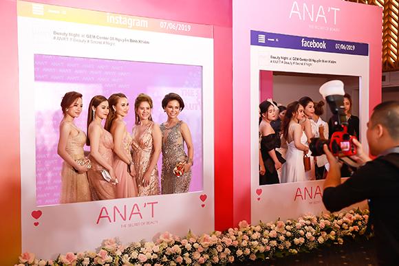 Mỹ phẩm ANA'T  giới thiệu 12 dòng sản phẩm chăm sóc da và chăm sóc sức khỏe cho người tiêu dùng