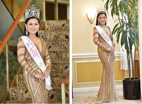 Người đẹp miền Tây đăng quang Hoa hậu Phụ nữ người Việt quốc tế