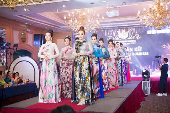 Bùng nổ đêm bán kết cuộc thi Hoa hậu Doanh nhân Quốc tế 2019 và lộ diện Top 20 vào chung kết