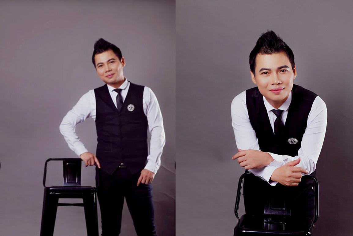 Ca sĩ Đình Khôi trở lại với phong cách thời trang sang trọng.