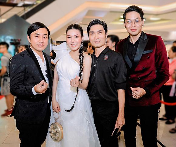 Hoa hậu, diễn viên Băng Khuê hội ngộ dàn diễn viên Cha Ma