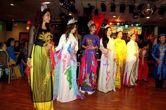 Hoa hậu Lý Ngọc Quyên tỏa sắc lưu giữ nét văn hóa Việt.