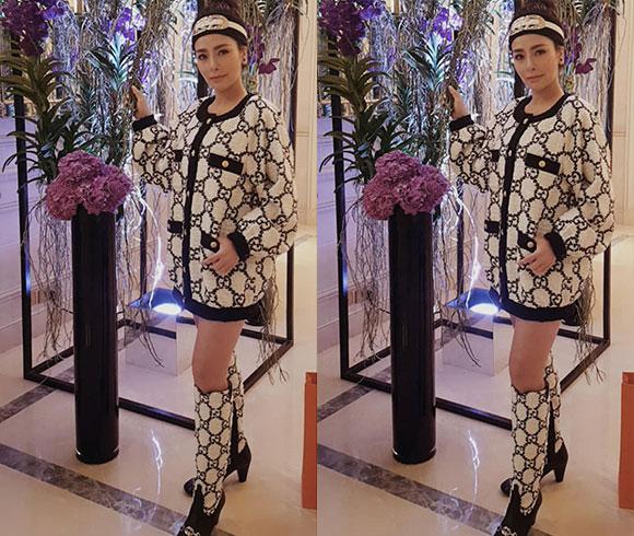 Thương hiệu thời trang nào có mặt trong tủ đồ hiệu của Hương Lôn Đôn?