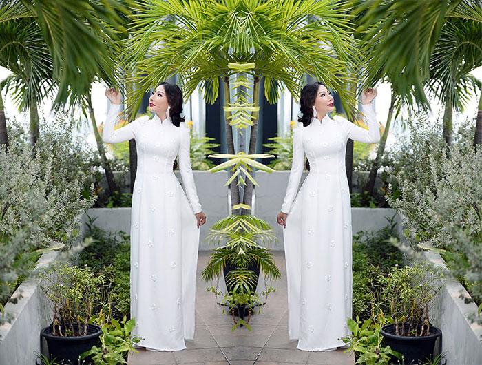 Chân dung nhan sắc hoa hậu quốc tế toàn cầu Trần Thu Hiền