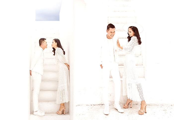 Lãng mạn bộ ảnh cưới của hot nhất năm 2019 của Siêu Mẫu Hoa Khôi Huỳnh Thi cùng MC Quốc Tế Chí Cường