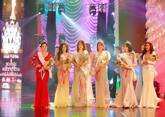 Doanh nhân Poly Nguyễn đăng quang Hoa hậu doanh nhân thế giới người Việt tại Thái lan