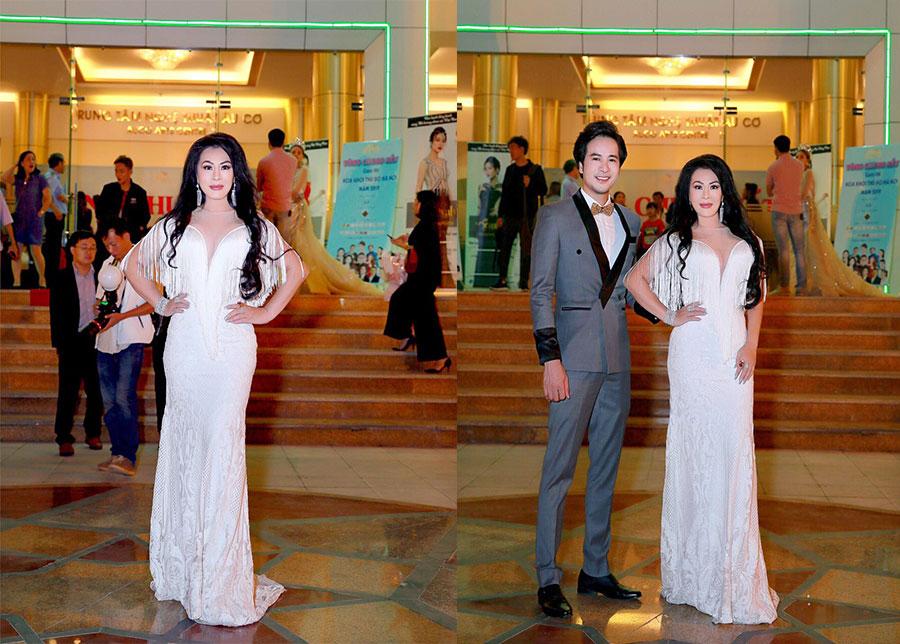 Hoa hậu Christine Thúy Hằng được  mời làm khách VIP tại Hà Nội