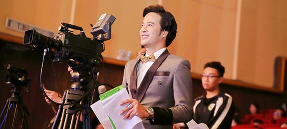 Diễn viên Đoàn Mình Tài, lần đầu chinh phục công chúng Thủ Đô trong vai trò MC