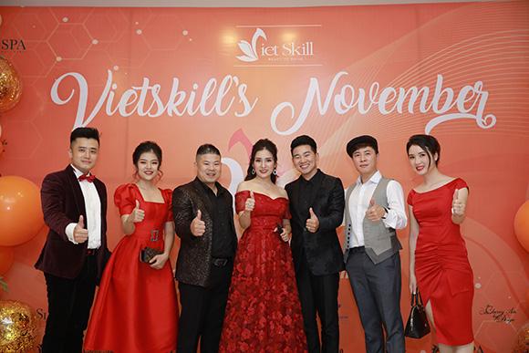 Vietskill's November đêm hội tụ đầy tính nghệ thuật tại Hà Nội