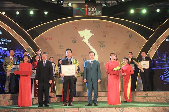Herbalife Việt Nam được trao giải thưởng doanh nghiệp bền vững