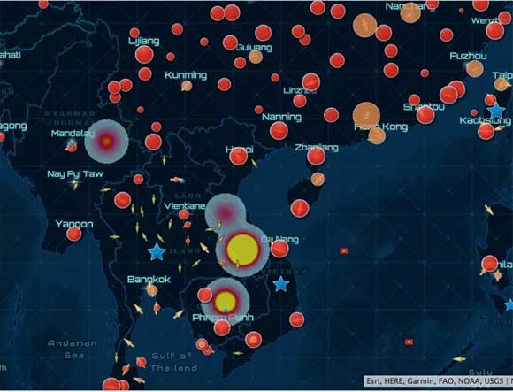 """Lần đầu tiên Việt Nam công bố """"bức tranh"""" cảnh báo nguy cơ dịch bệnh Covid-19 toàn cầu"""